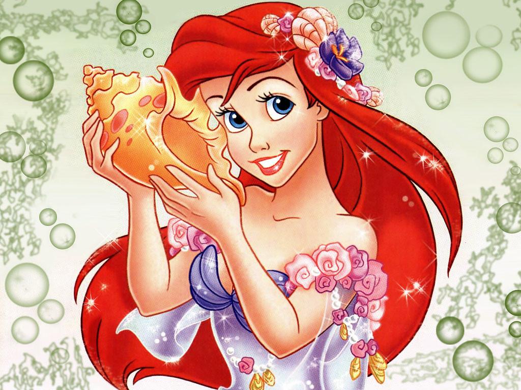 deniz kızı Ariel resimleri
