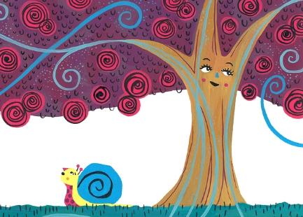 Salyangoz ile Gül Ağacı
