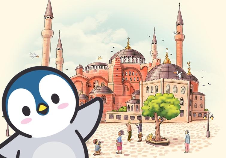 penguenler istanbulda masalı